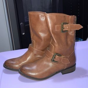 Madden Girl Leather Boots